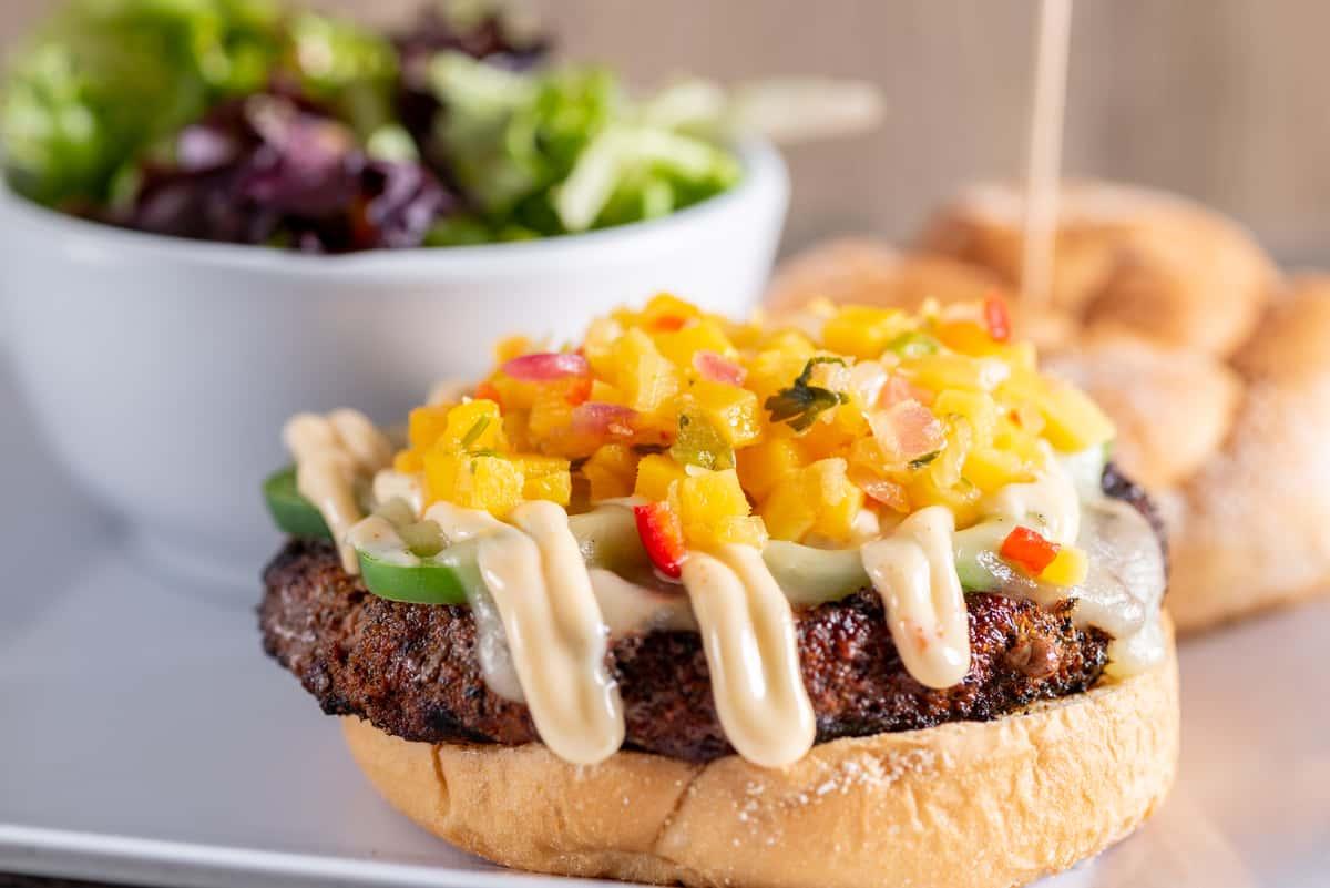 Juju Cajun Burger