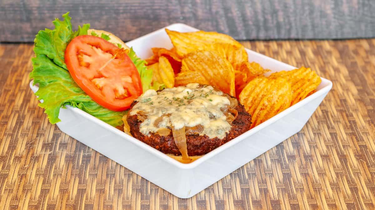 Black 'N' Bleu Burger