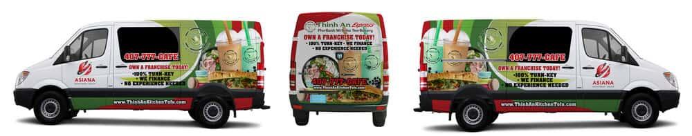 food truck-catering van