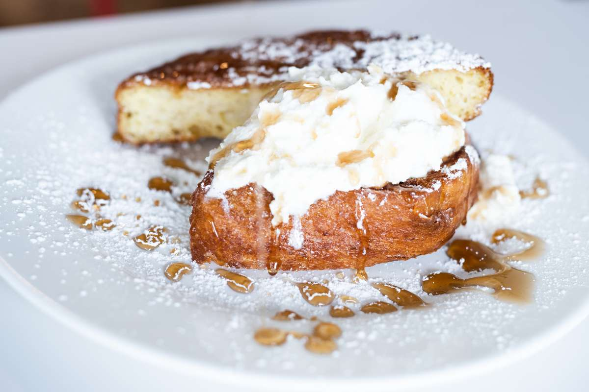 -Carrot Cake French Toast-