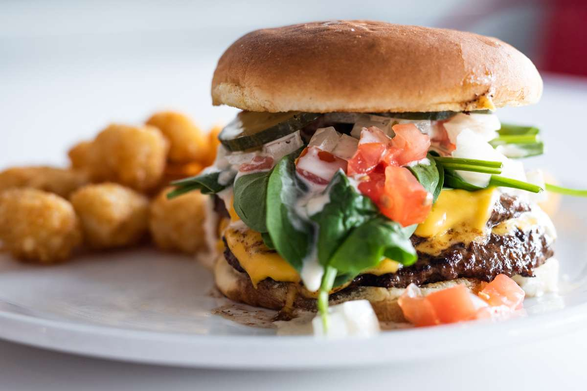 Diner Double Burger