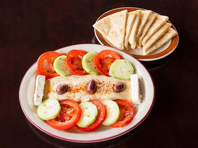 Hummus Plate
