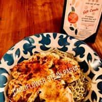 Cauliflower Steak & Pasta