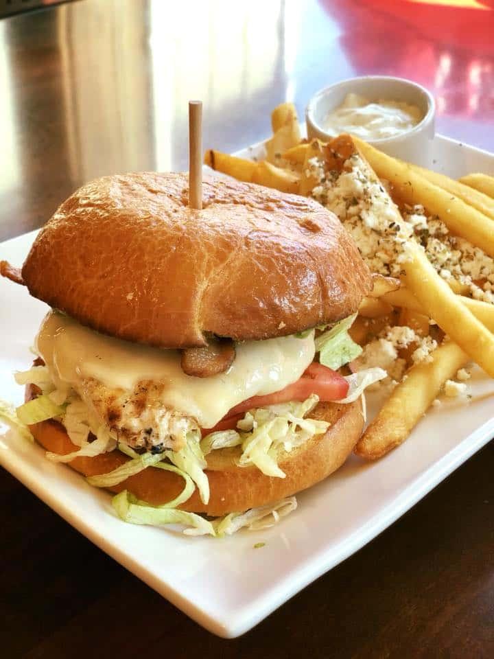 Kafe Neo Chicken Sandwich