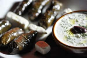 Dolmathes Plate