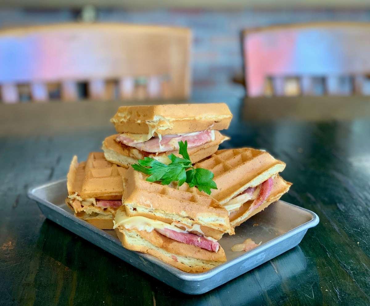French Quarter Waffle Sandwich