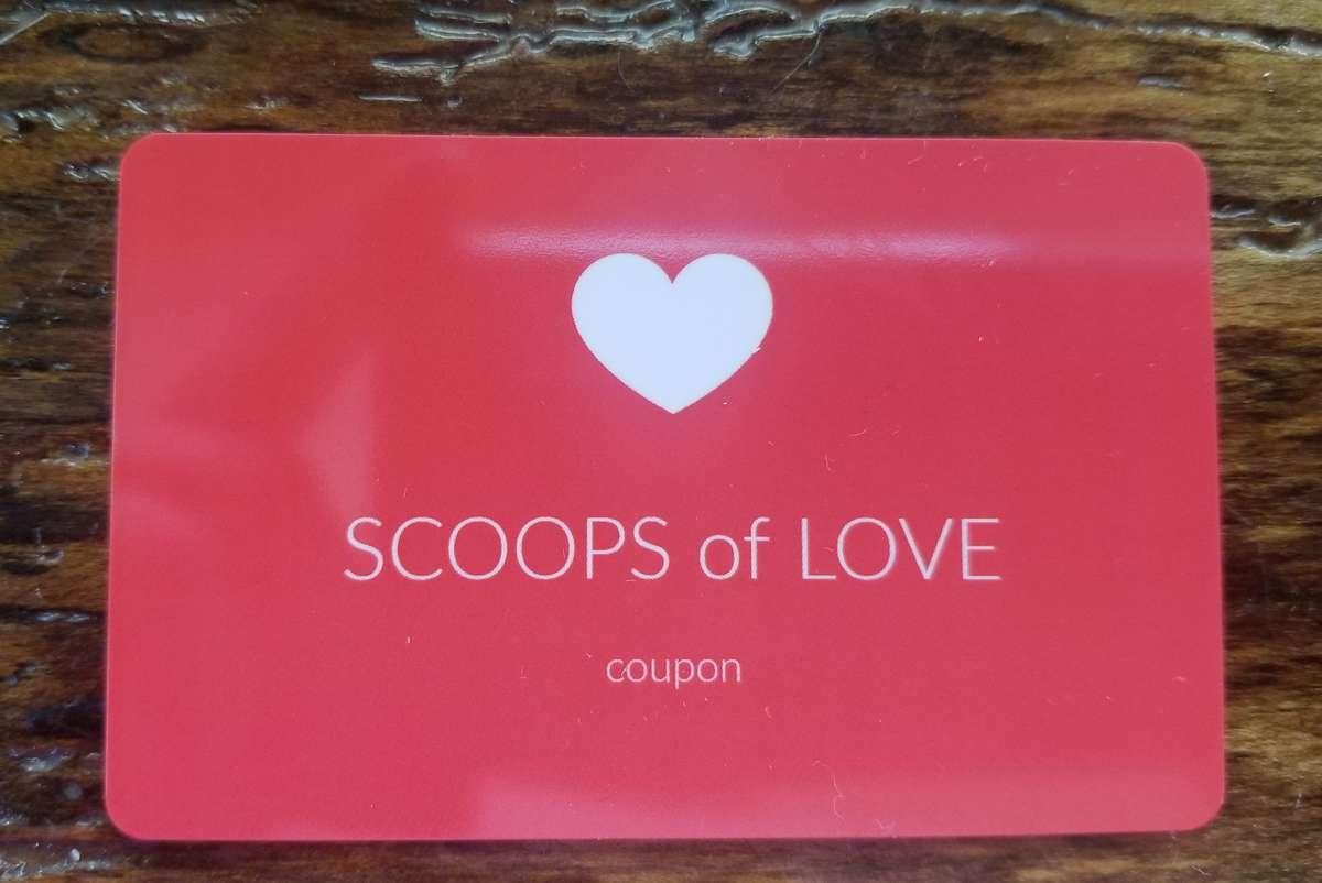 SCOOPS OF LOVE COUPON