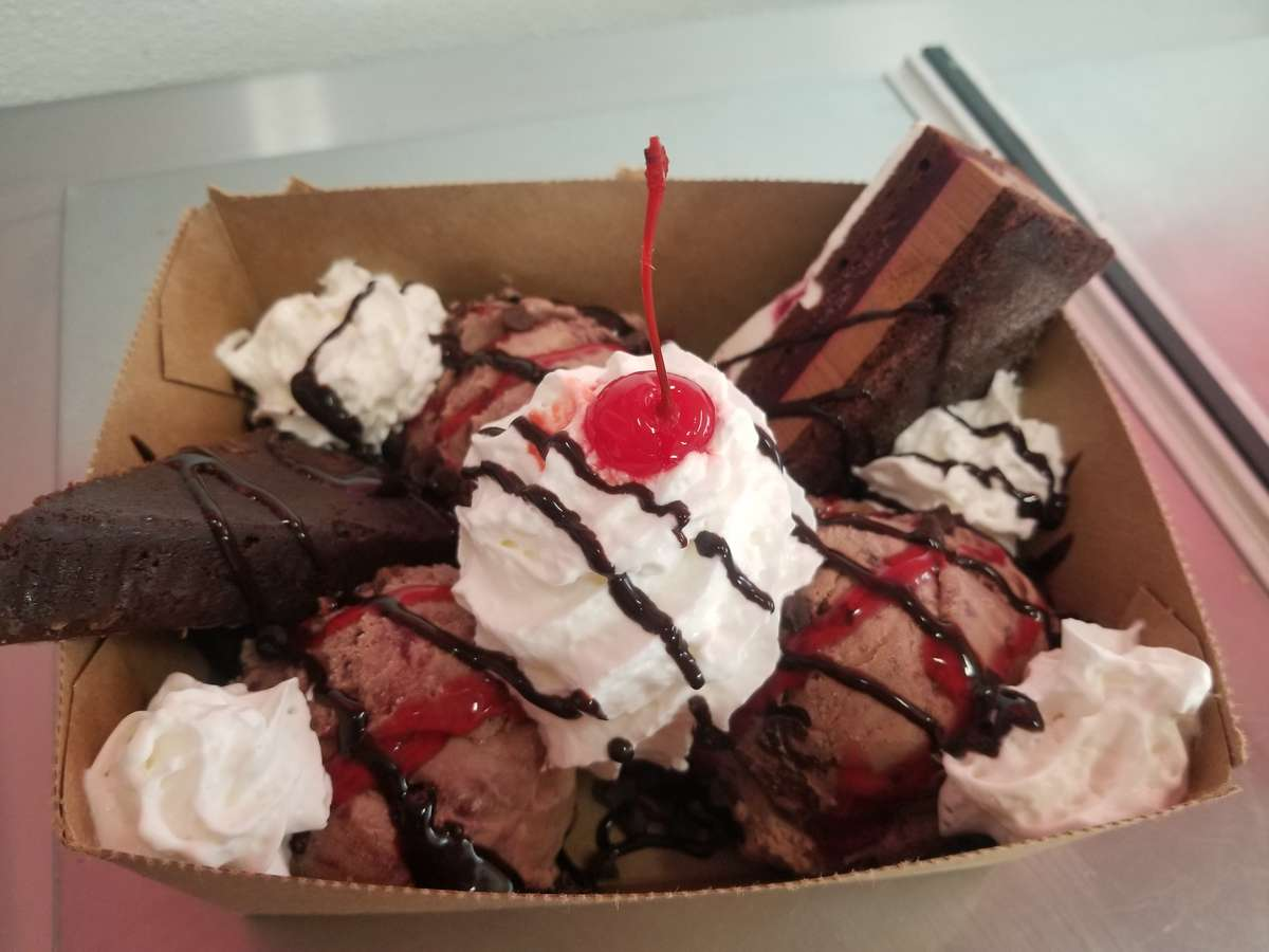 Black Forest Extreme Sundae