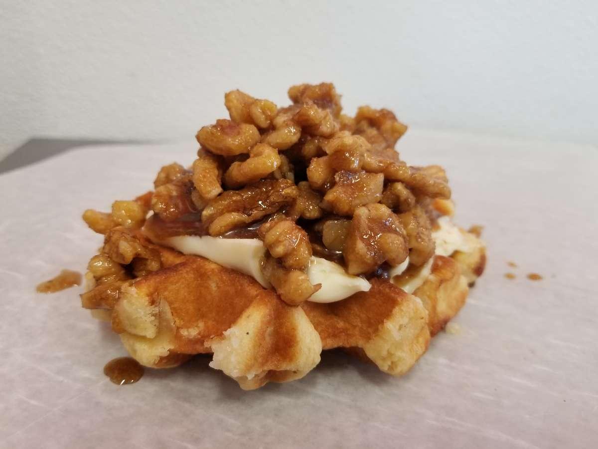 Brown Sugar and Kahlua Waffle