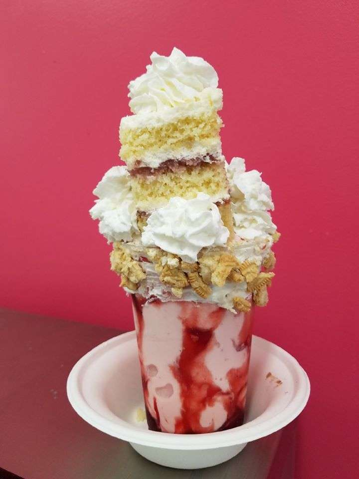 Strawberry Shortcake Extreme Milkshake