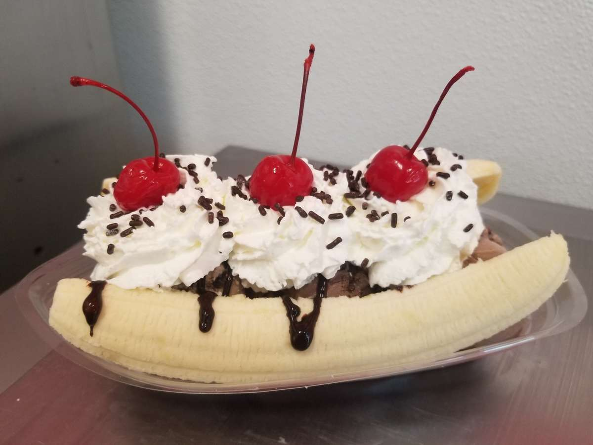 Chocolate Banana Split