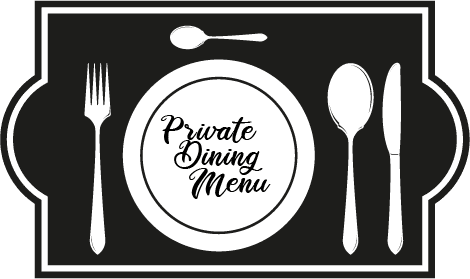 private dining menu icon