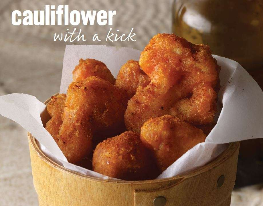 Zesty Cauliflower Kernals