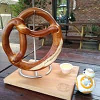 Giant Pretzel with Beer Cheese