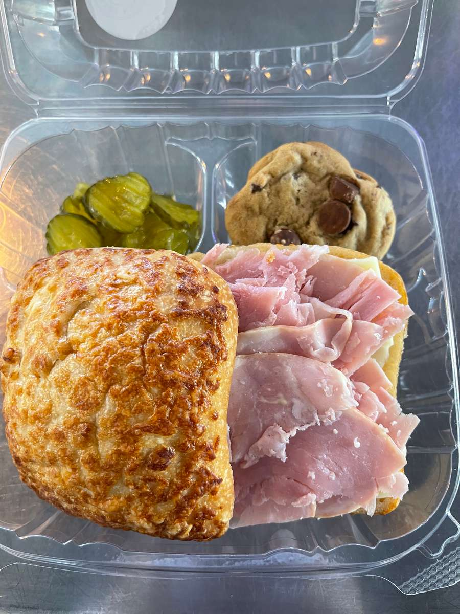 Gourmet Ham and Cheese