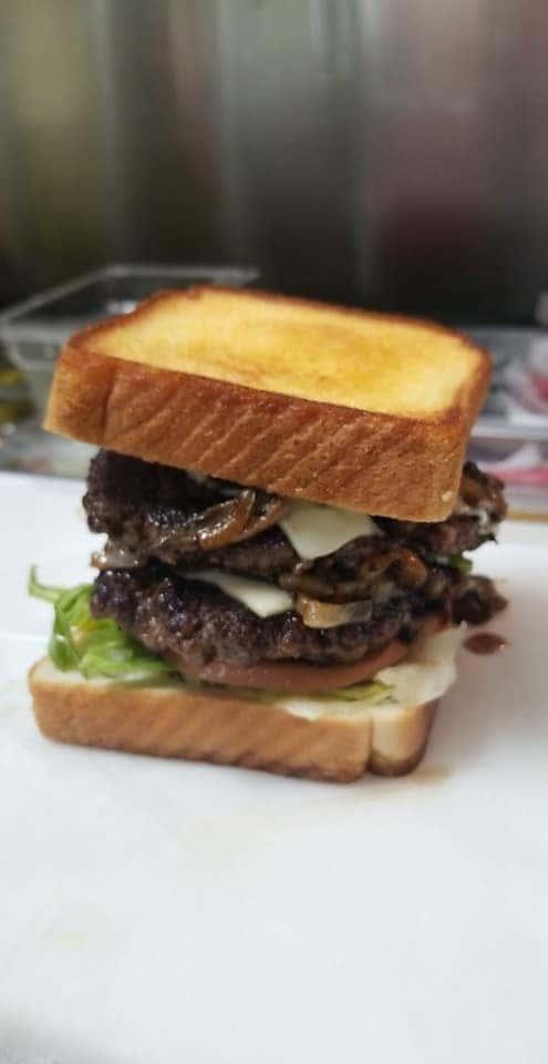 Double 🍄 onion burger