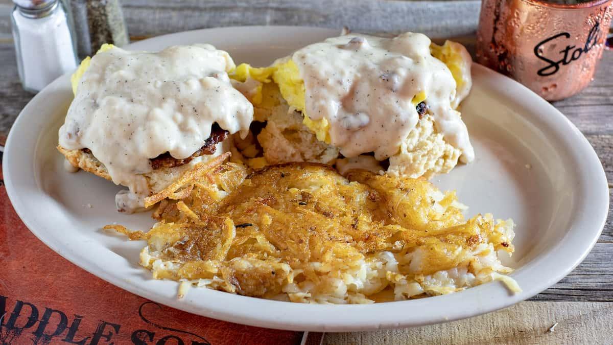 Cowboy Breakfast Sandwich