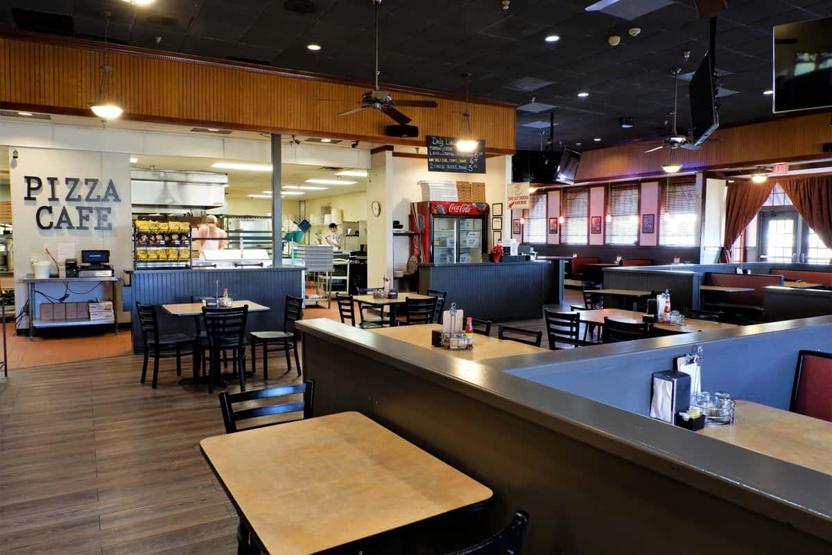 Pizza Cafe Interior