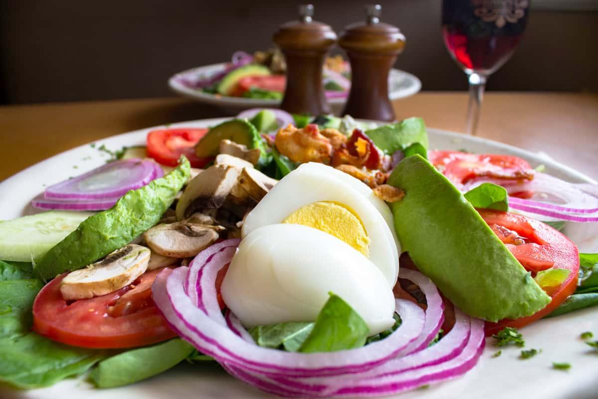 Spinach & Bacon Salad