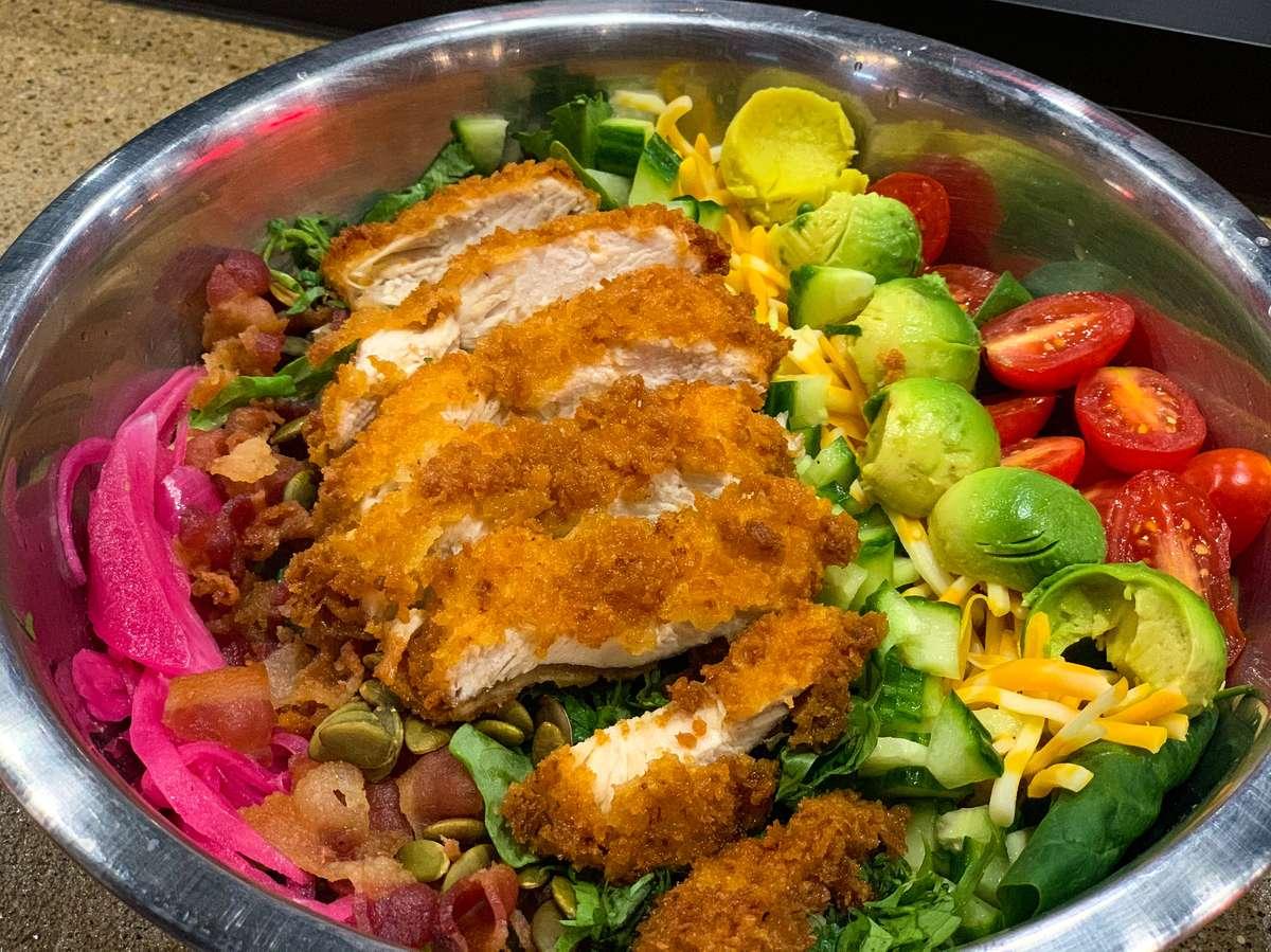 Katsu Cobb Salad $16