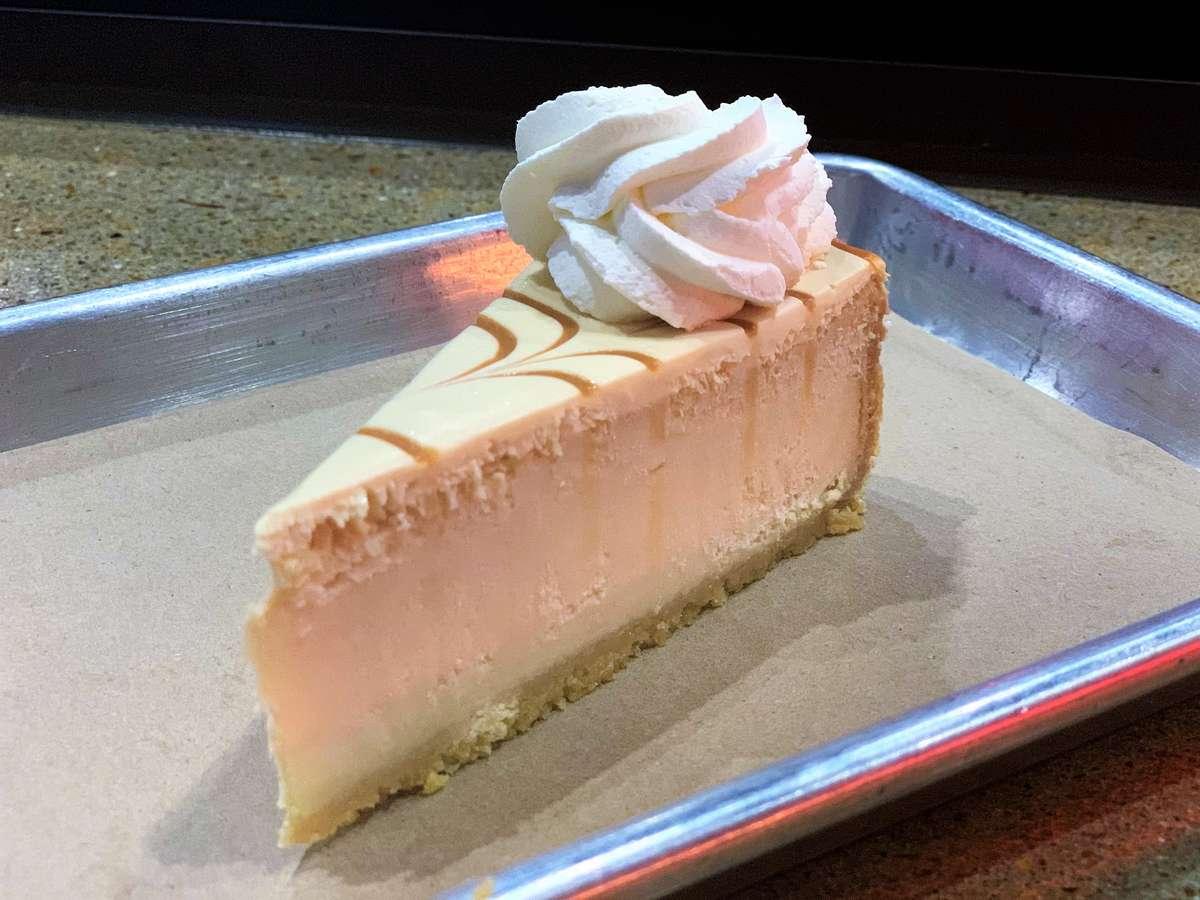 Dulce De Leche Cheesecake $6