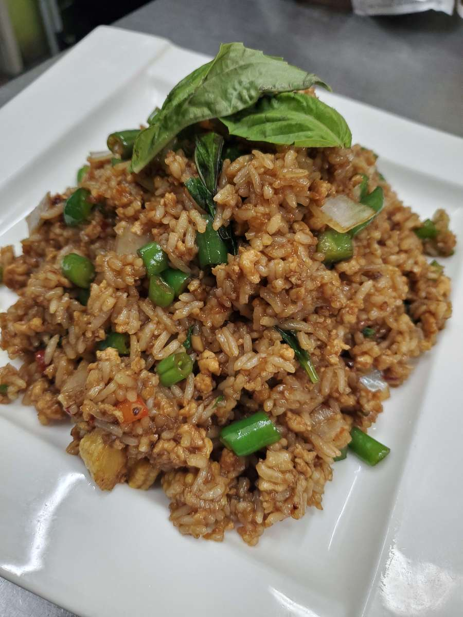 Spicy Basil Fried Rice*