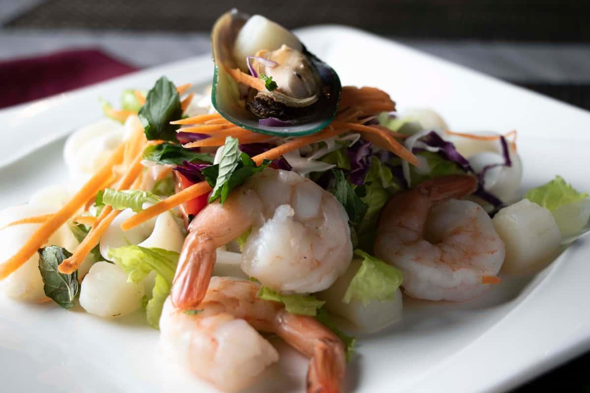 Plah Talay (Seafood Salad)