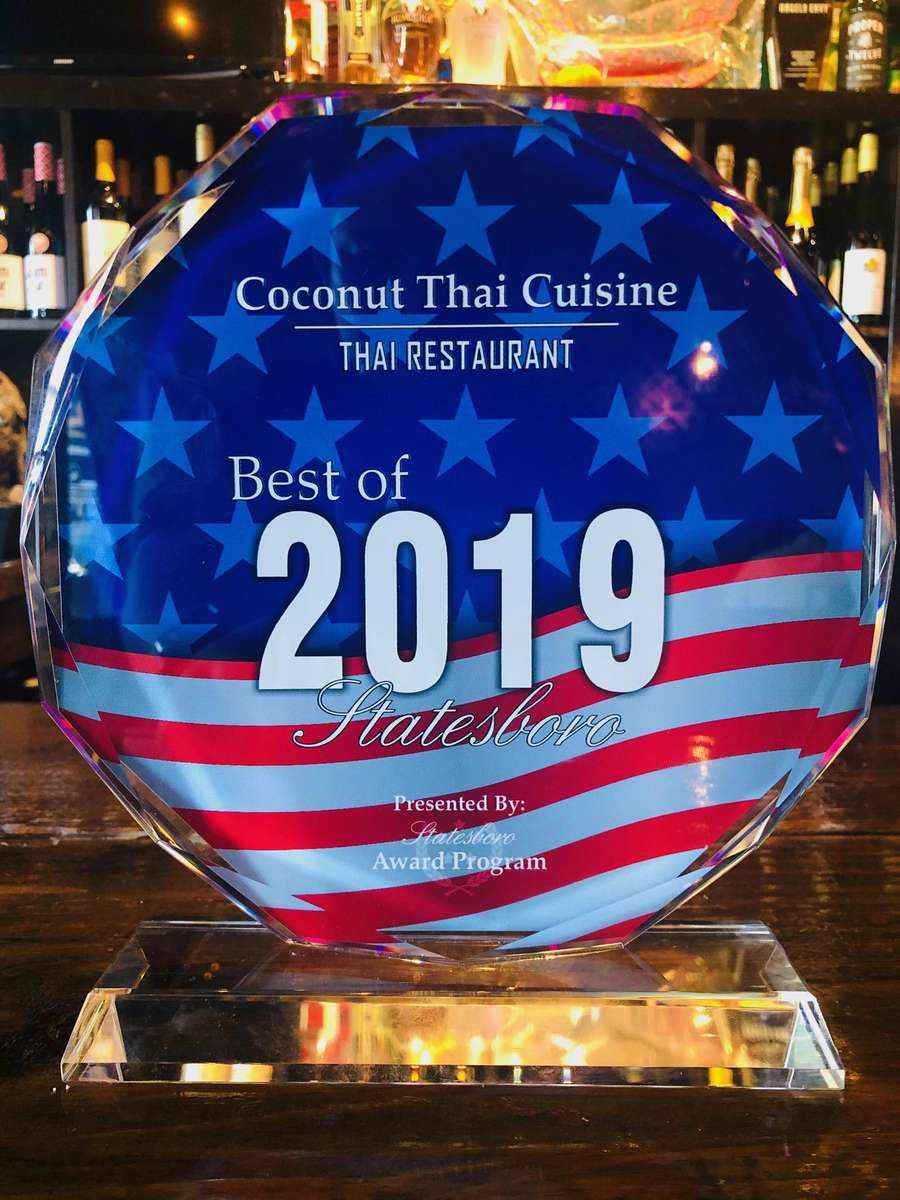 2019 Statesboro's Best Thai Restaurant