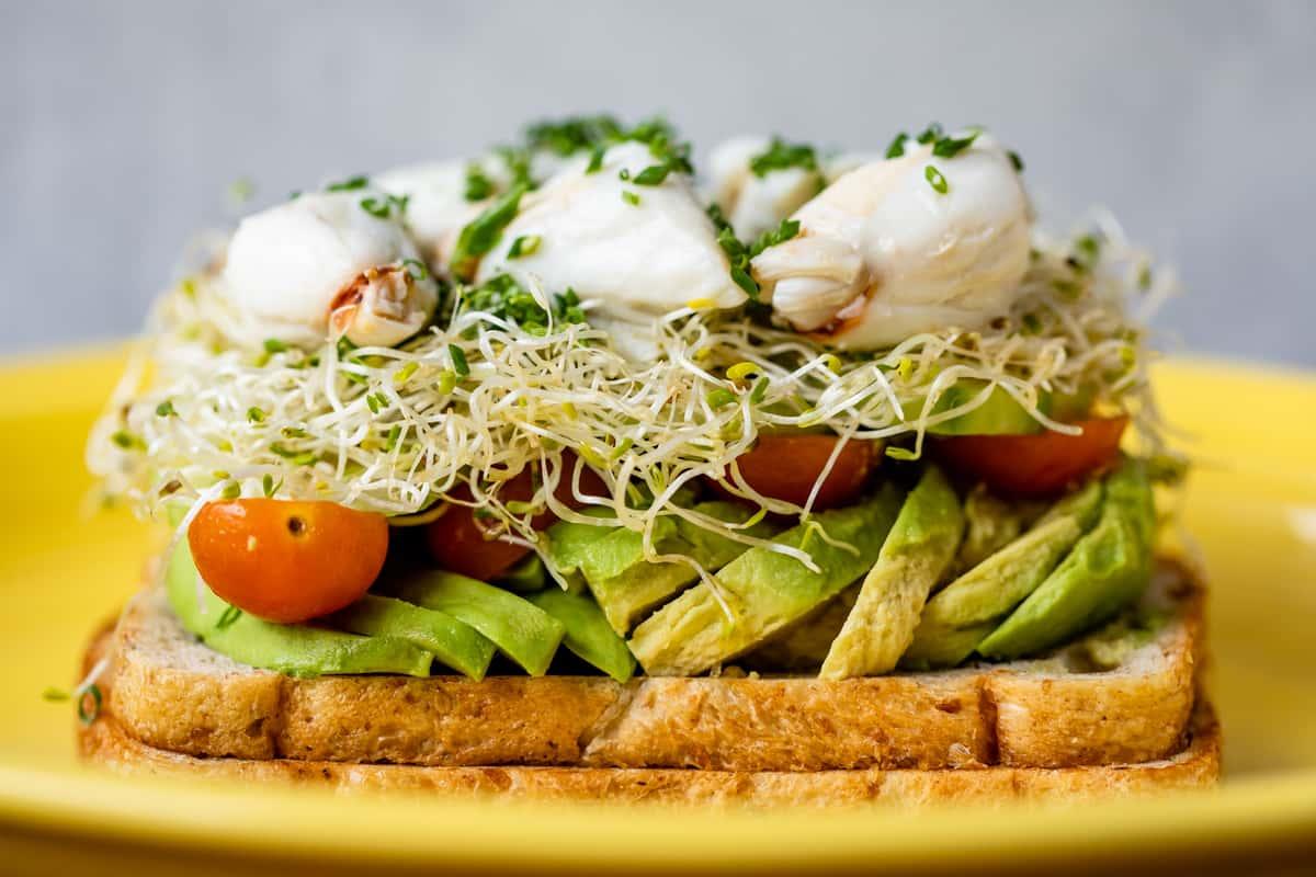 Crab & Avocado Toast