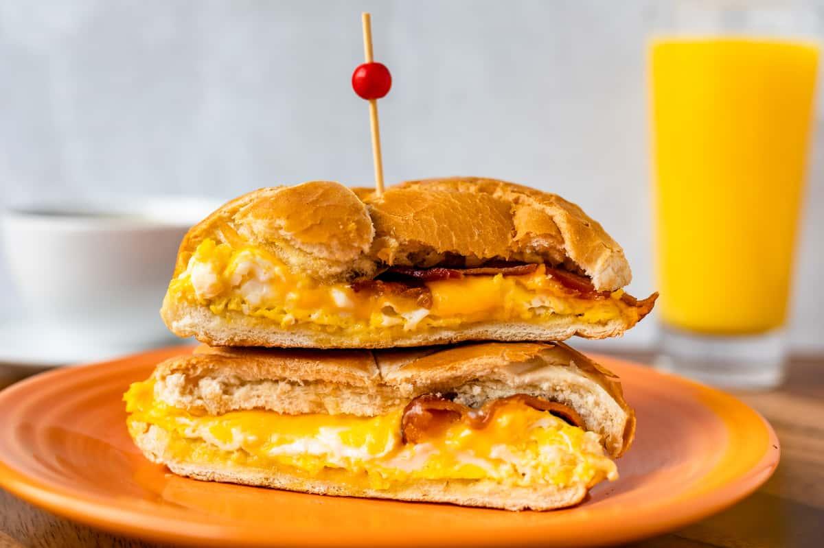 I ♥ NY Egg Sandwich