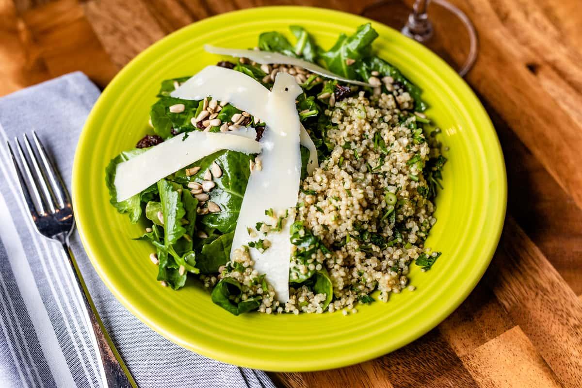 Baby Kale & Quinoa Salad