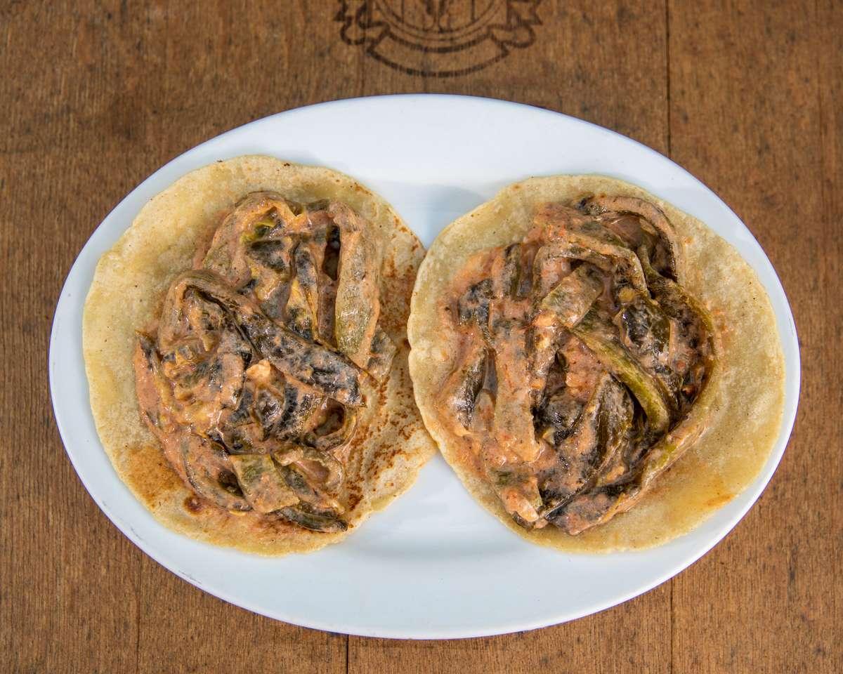 Tacos De Rajas