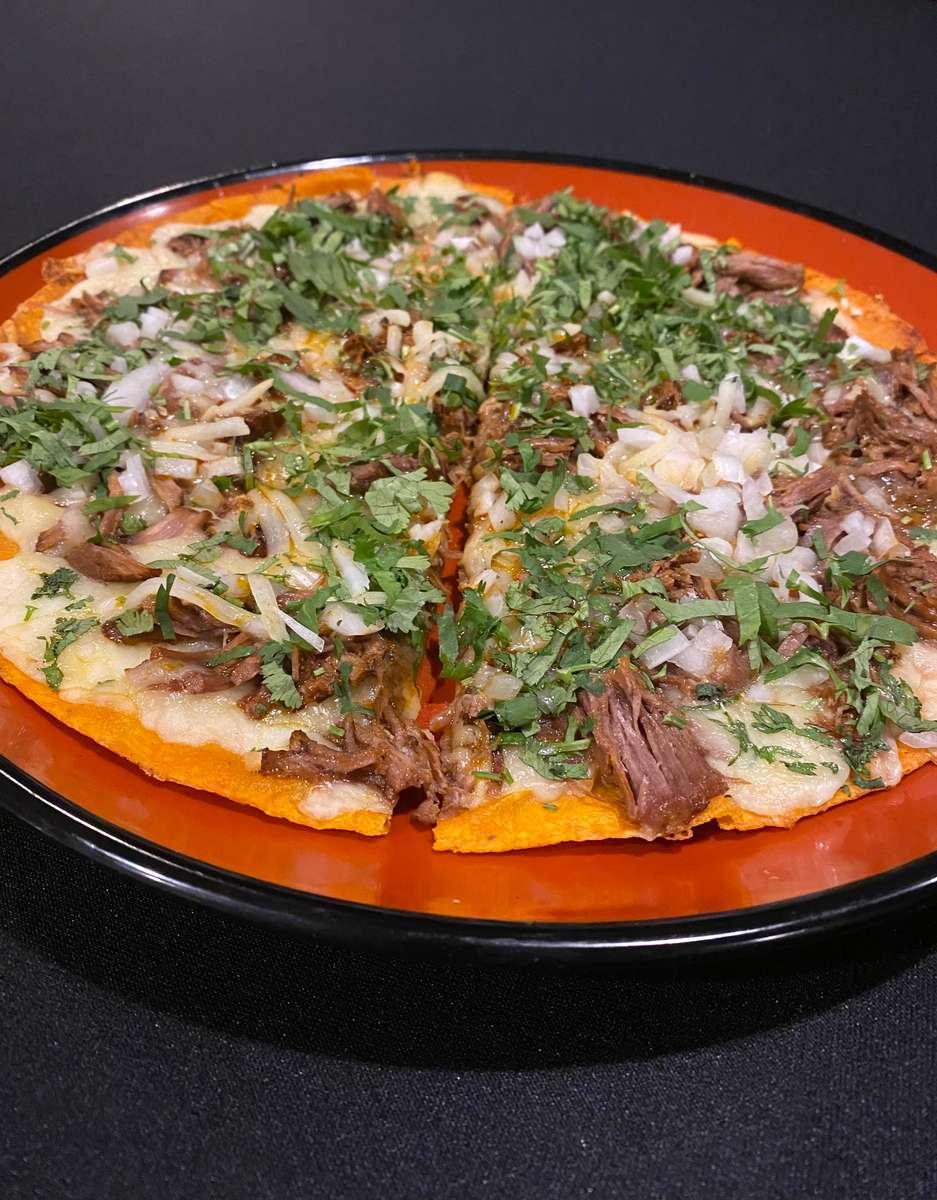 Birria Pizzadilla