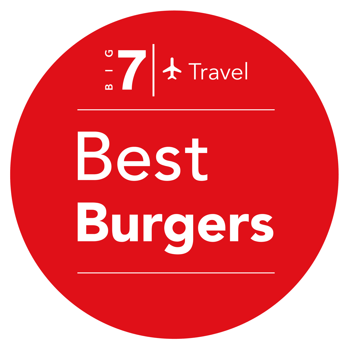 Big Seven Travel best burger