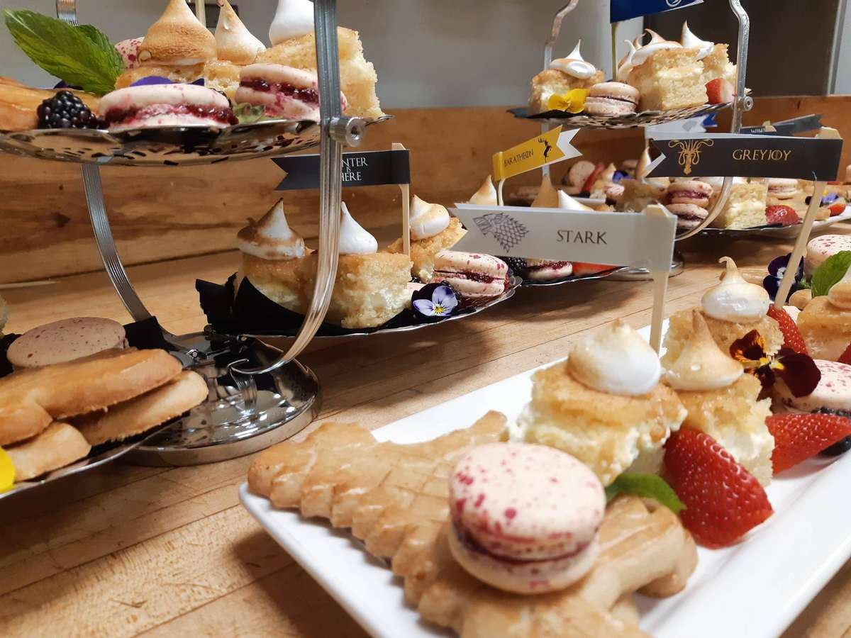 Various handmade pastries
