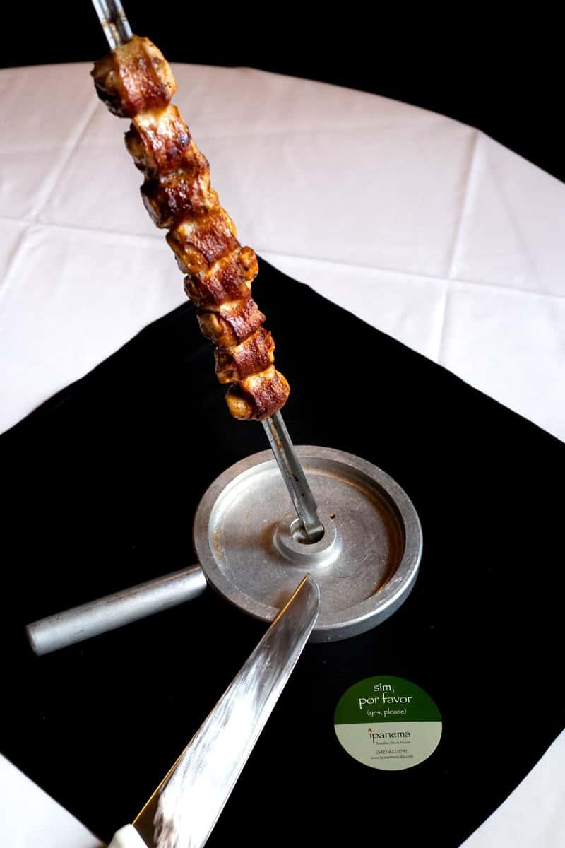 Filet Mignon Com Bacon