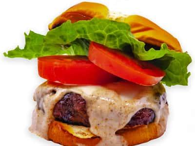 BBQ Jerk Turkey Burger