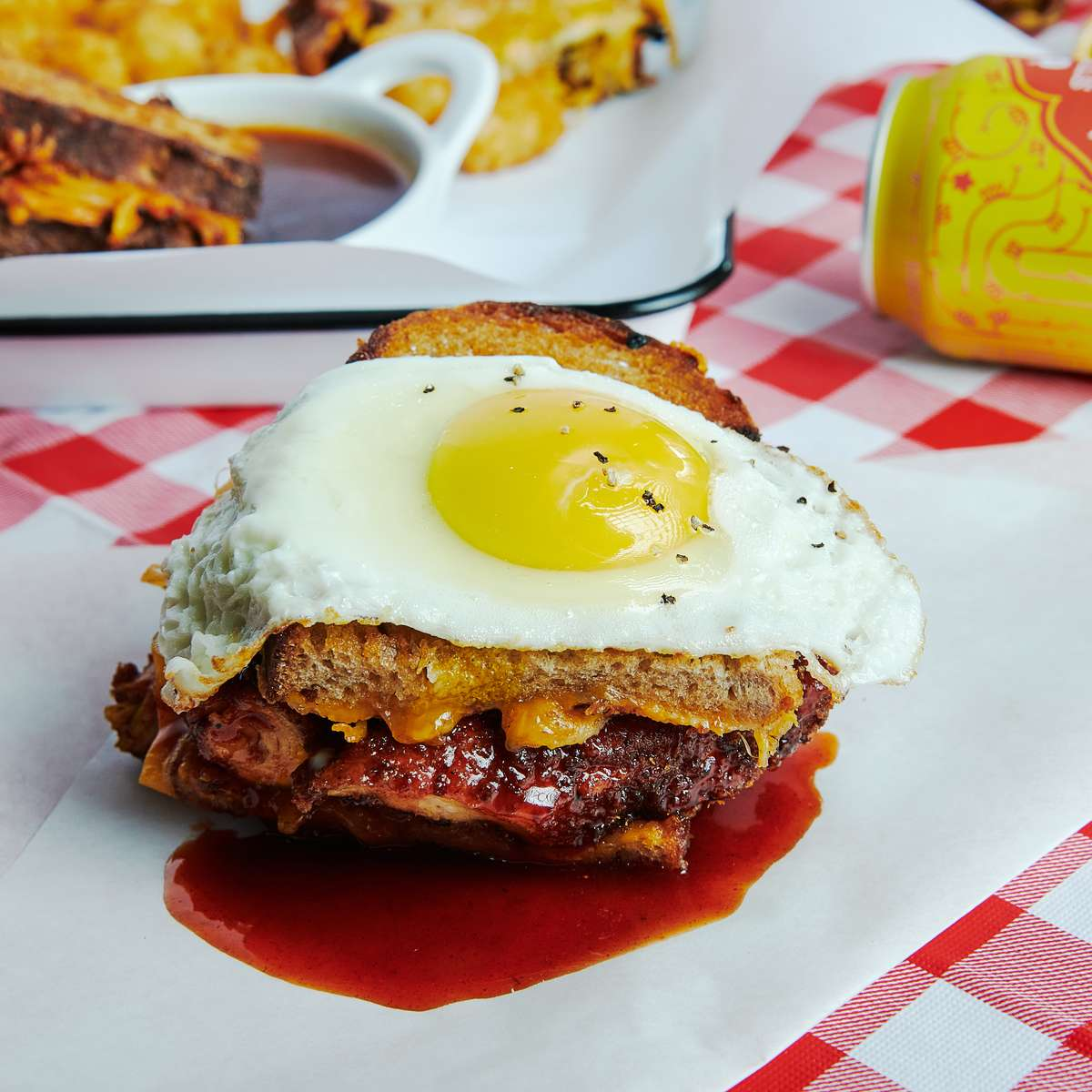 Fried Chicken with Egg
