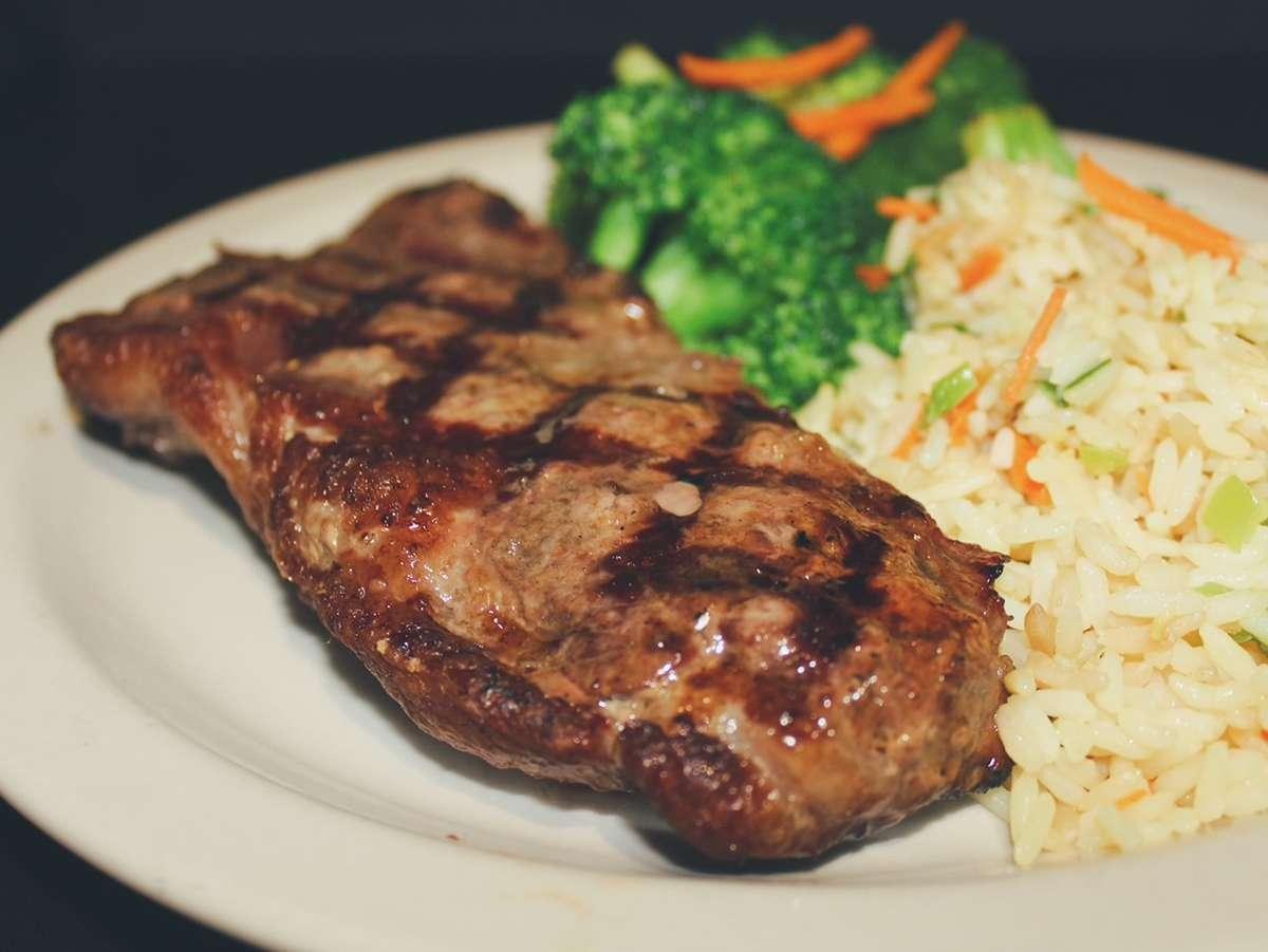 *New York Strip Steak