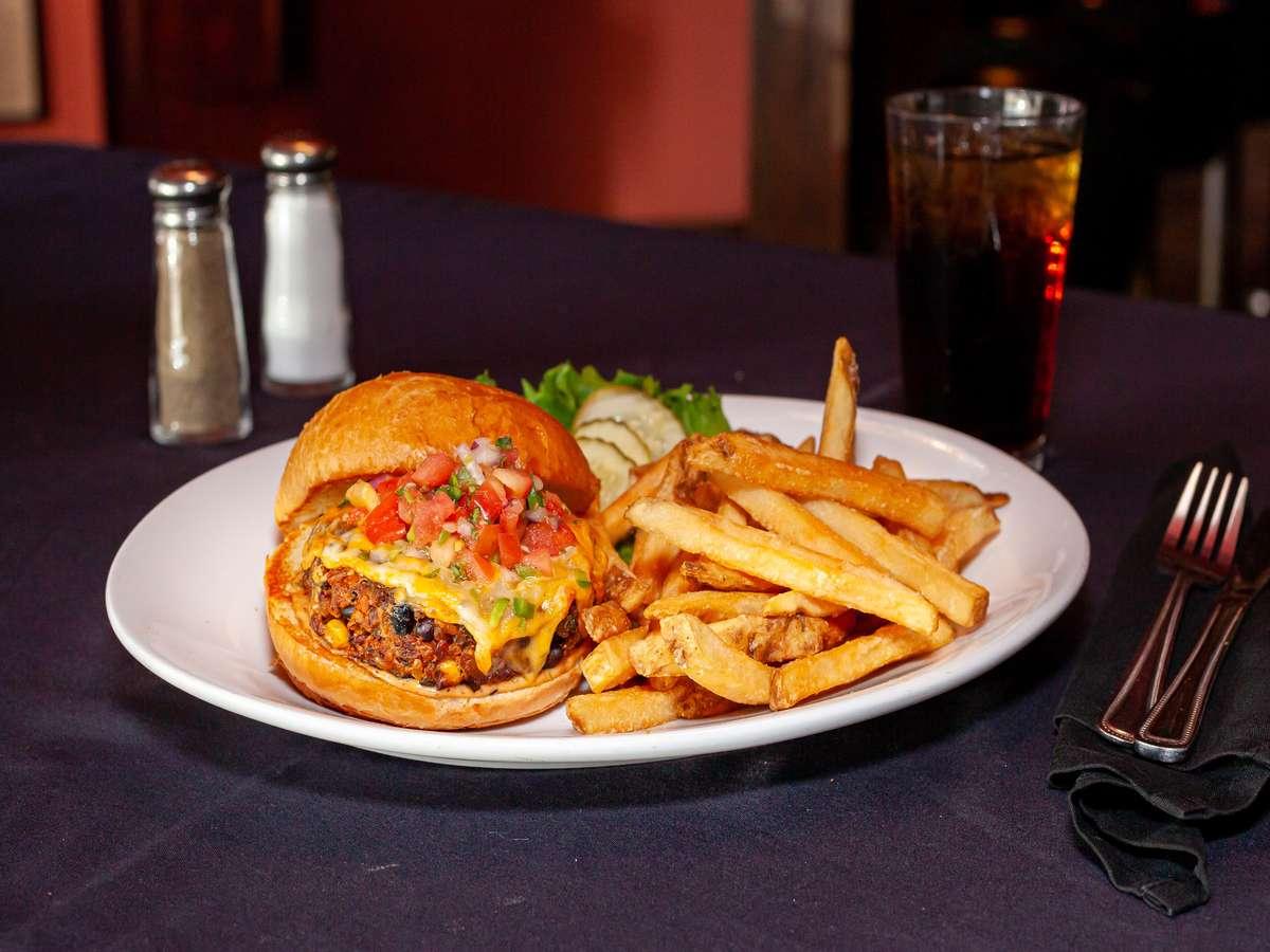 Santa Fe Veggie Burger