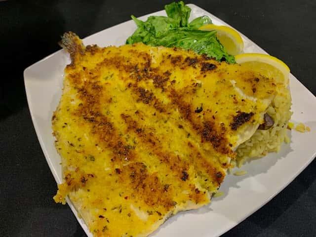 Crispy Pan-Fried Trout