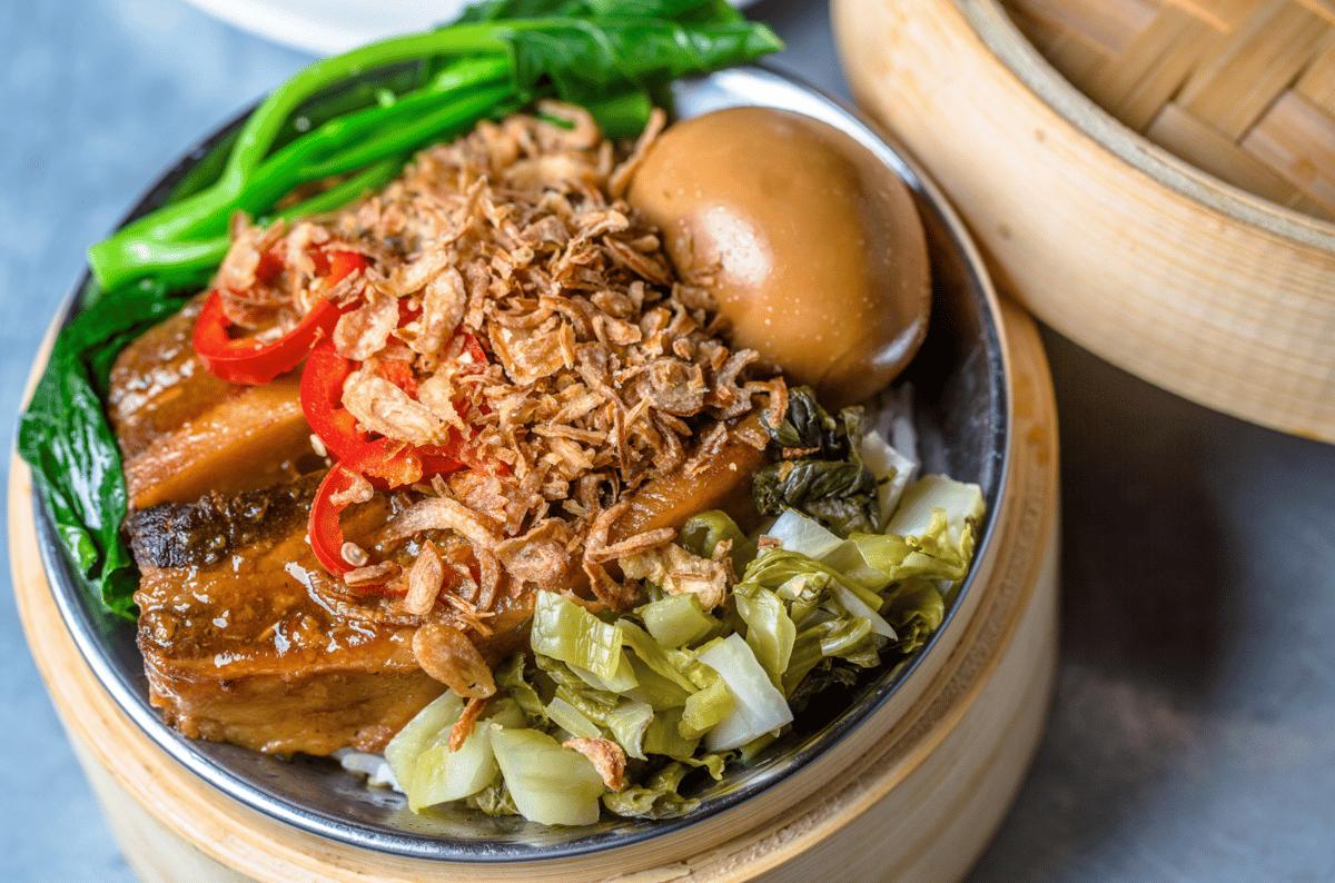 Thit Ko Tho • Braised Pork Belly Bowl