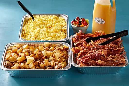 Big scramble breakfast