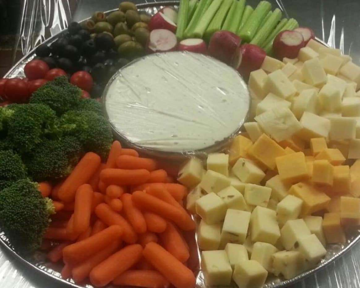 COMBINATION VEGETABLE AND CHEESE