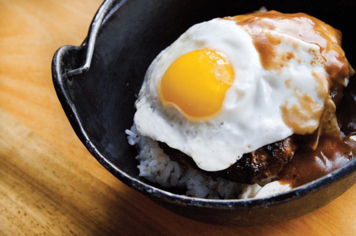 egge on food