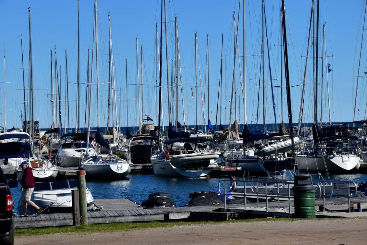 marina waterfront