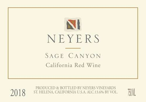 Red Blend - Neyers - Sage Canyon
