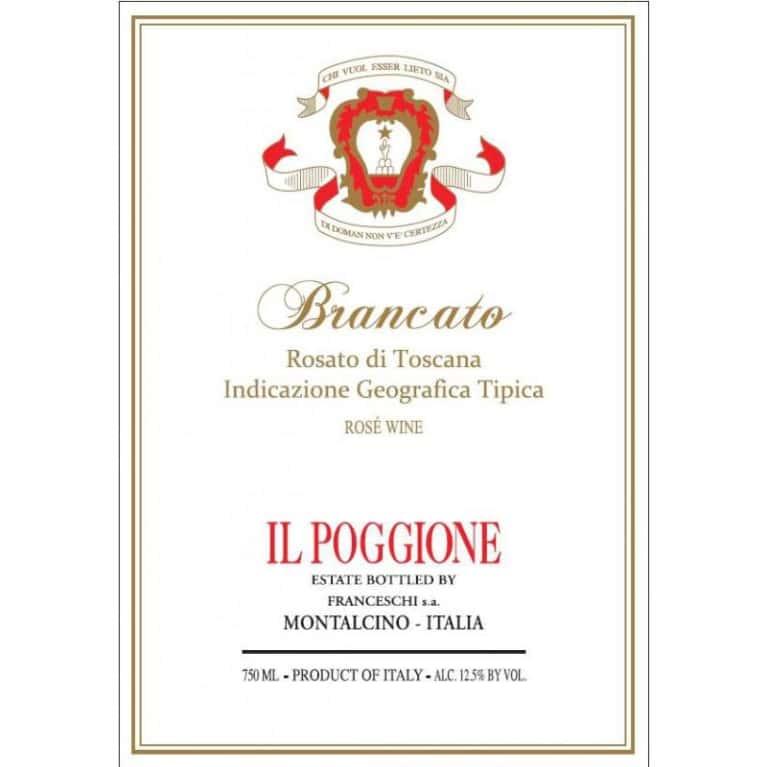 Sangiovese - Tenuta Il Poggione - Rosato di Toscana Brancato