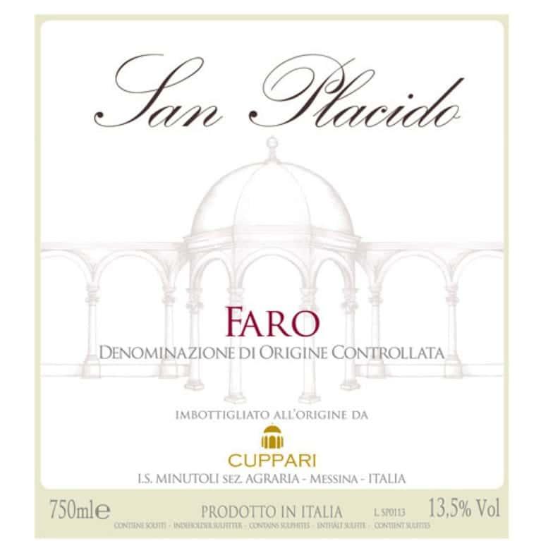 Nero d'Avola - Cuppari - San Placido Faro DOC