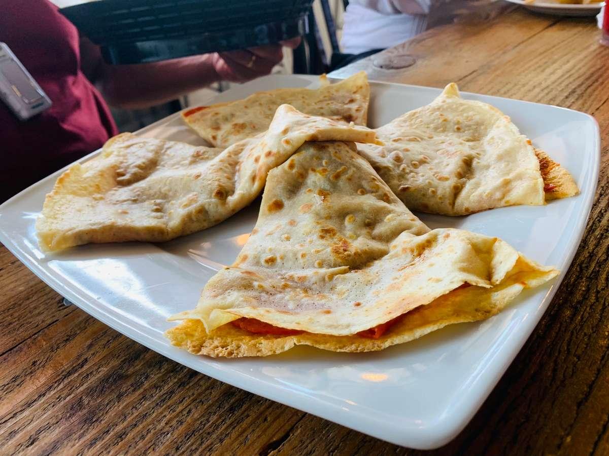 Pizza Crepe